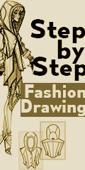 step by step fashion drawing